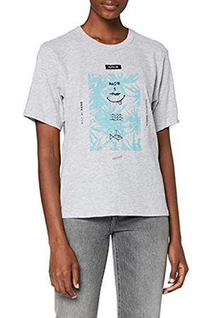Hurley Mujer Tops - W Floral Spike Crew Camisetas, Mujer