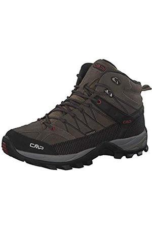 CMP Hombre Trekking - Rigel Mid, Zapatos de High Rise Senderismo Hombre, (Torba-Antracite 02pd)