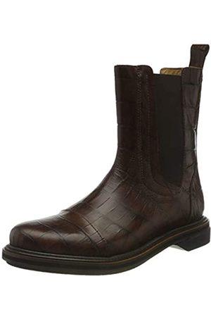 Shabbies Amsterdam Shs0722, Chelsea Boot 2.5 CM Cuero Impreso Croco Mujer