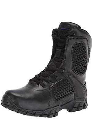 Bates Mens Strike 8 Inch Waterproof Black Leather Boots 44 EU