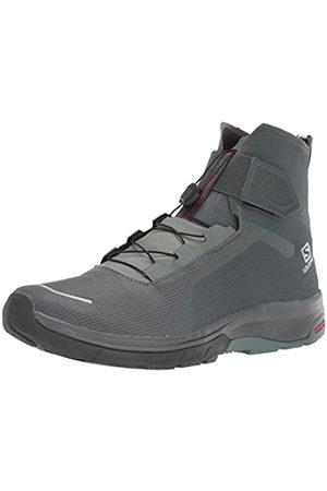 Salomon Hombre Trekking - Calzado Alto T-MAX WR, Botas Hombre, Balsam Gr/Urban Ch