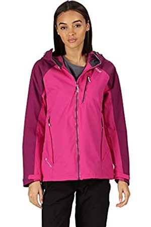 Regatta Mujer Chubasqueros - Birchdale Chaquetta Isotex con Capucha, Transpirable y Impermeable Jackets Waterproof Shell, Mujer