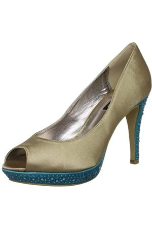 Victoria Delef Pumps 13V0606 - Zapatos de Vestir de satén para Mujer, Color