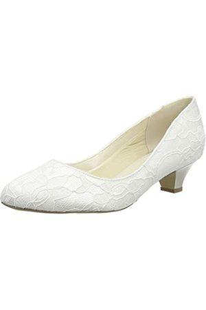 Paradox London Pink Mujer Oxford y mocasines - Bon, Zapatos de Boda Mujer, Marfil (Ivory 275)