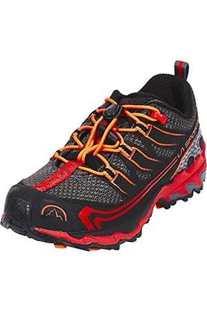 La Sportiva Hombre Trekking - Falkon Low 27-35, Zapatillas de Senderismo Unisex niño, (Carbon/Flame 000)