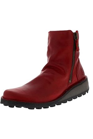 Fly London MON944FLY, Botas Mujer, (Red)