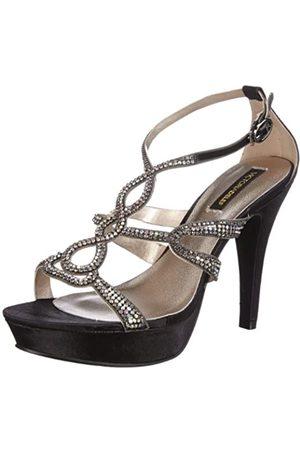 Victoria Delef Sandals 13V0558 - Zapatos de Pulsera de satén para Mujer, Color