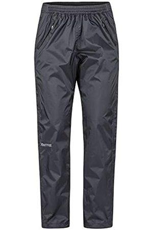 Marmot Mujer Pantalones y Leggings - Wm's Precip Eco Full Zip Pant Pantalones Impermeables, Pantalones De Lluvia, Prueba De Viento, Transpirables, Mujer, Black