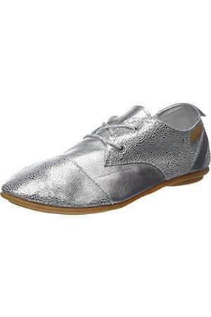 Pataugas Swing/S, Zapatos de Cordones Derby Mujer (Argent)