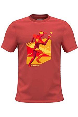 Salomon Hombre Camisetas - Camiseta Modelo OUTLIFE Graphic Geo Runner SS tee M Marca