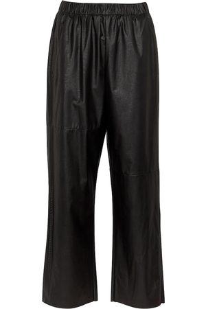 MM6 MAISON MARGIELA Pantalones de piel sintética