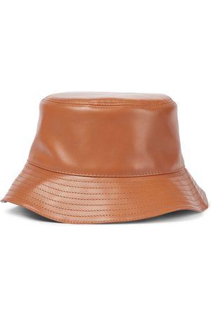 Loewe Sombrero de pescador Anagram de cuero