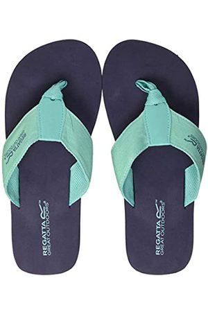 Regatta Mujer Slippers - Catarina' Toe Post Lightweight Eva Slippers, Chanclas Mujer, Marina/Cerámica