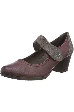 Soft Line Mujer Tacón - 24366-21, Zapatos de Tacón Mujer, (Bordeaux 549)