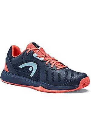 Head Sprint Team 3.0 2021 Clay Women DBCO, Zapato de Tenis Mujer, Blau/Koralle