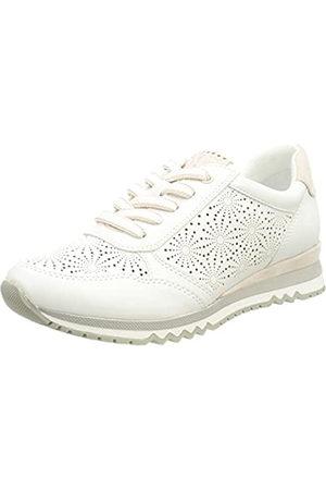 Marco Tozzi Mujer Zapatillas deportivas - 2-2-23792-36 Sneaker, Zapatillas Mujer, White/Rose