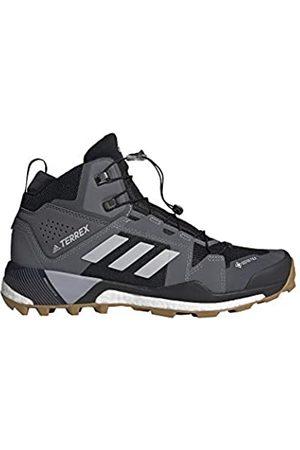 adidas Hombre Trekking - Zapatilla Terrex Skychaser XT Mid GTX, Botas de Senderismo Hombre, CBLACK/GRETWO/HALSIL