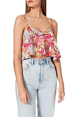 Hurley Mujer Camisetas y Tops - W Palm Paradise Flounce Crop Top