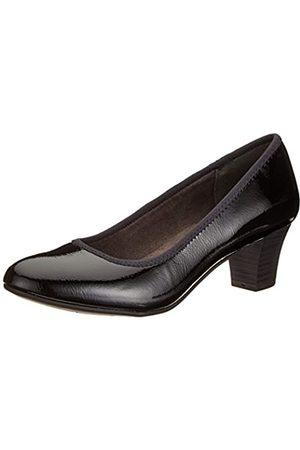 Soft Line Mujer Tacón - 22463-21, Zapatos de Tacón para Mujer, (Black Patent 018)