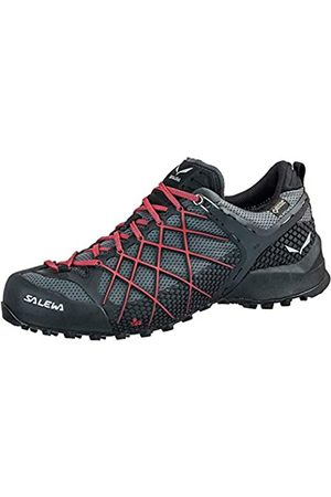 Salewa Hombre Trekking - MS Wildfire Gore-TEX, Zapatos de Senderismo Hombre, (Black Out/Bergot)