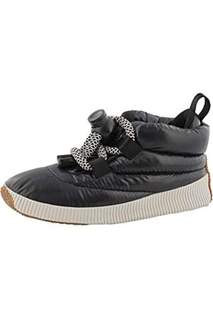 sorel Mujer Zapatillas deportivas - Out N About Puffy Lace, Zapatillas Mujer, (Black)