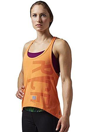 Reebok Mujer Sin mangas - Camiseta Sin Mangas CF Performance Muscle Tank Electric Peach Talla:XXS