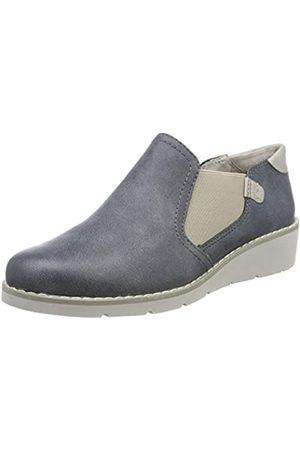 Soft Line Mujer Oxford y mocasines - 24664, Mocasines Mujer, (Jeans)