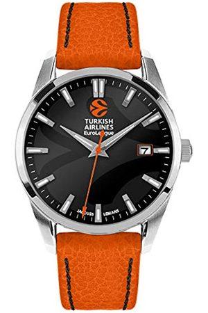Jacques Lemans Hombre Relojes - Reloj de Pulsera en Acero Inoxidable 1, Hombre