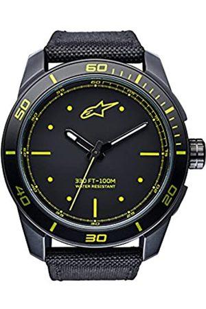Alpinestars Reloj Análogo clásico para Hombres de Cuarzo con Correa en Nailon 1017-96045
