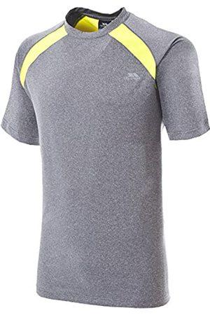 Trespass De Hombre Negro T-Shirt, Hombre, Telford