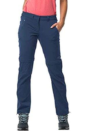 Jack Wolfskin Mujer Pantalones y Leggings - Mujer Overland Zip Away W Pantalones para Senderismo