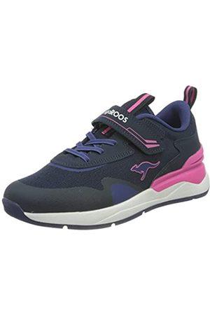 KangaROOS Mujer Zapatillas deportivas - KD-Gym EV, Zapatillas Mujer, Dark Navy Fandango Pink 4294-Vibrador, Color