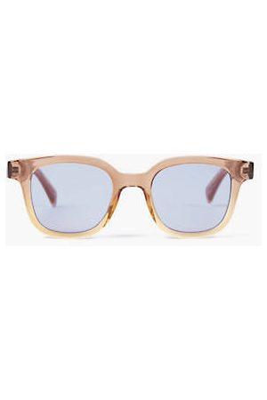 Levi's ® Rectangle Sunglasses / Gold Mirror