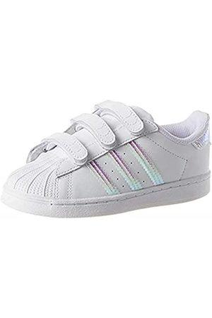 adidas Superstar CF, Sneaker Unisex niños, FTWR White/FTWR White/FTWR White