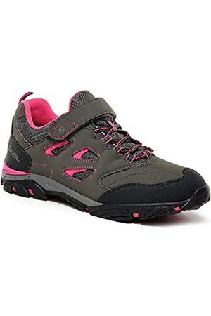 Regatta Niño Trekking - Chaussures Techniques De Marche Junior Basses Holcombe V, Zapato para Caminar, Acero/tulipán