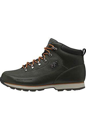 Helly Hansen Hombre Trekking - Lifestyle Boots, Botas de Senderismo Hombre, (Forest Night/Marmelade)