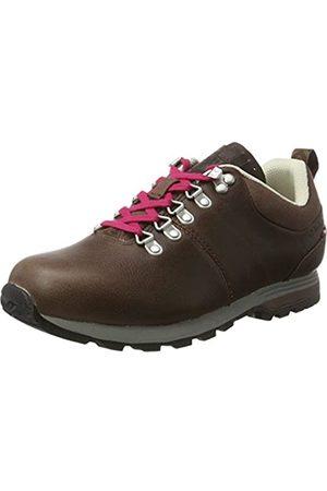 Dachstein Outdoor Gear Mujer Zapatillas deportivas - Anna II, Derby Mujer, (Dark Brown/Cranberry)