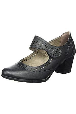 Soft Line Mujer Calzado casual - 24366, Mary Jane Mujer, (Black Uni 007)