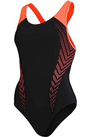 Speedo Mujer Bañadores - Placement Laneback One Piece Swimsuit Mujer, Mujer, 811389F892