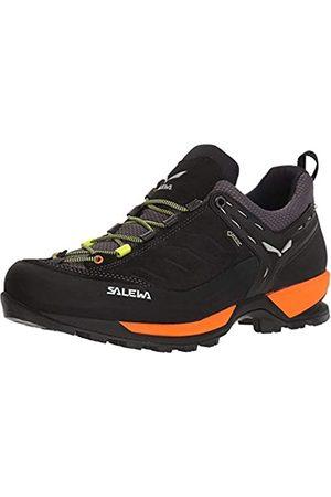 Salewa Hombre Zapatillas deportivas - MS Mountain Trainer Gore-TEX, Zapatos de Senderismo Hombre, (Black Out/Holland)