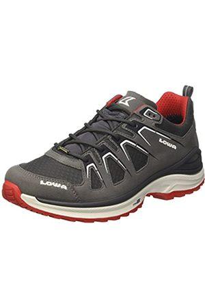 Lowa Innox EVO GTX Lo, Zapatos de Senderismo Hombre, (Grau/Rot)