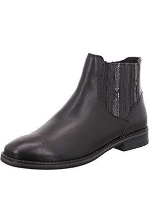 Marco Tozzi Mujer Botines - 2-2-25344-25 Leder Chelsea Boot, Botas Estilo Mujer, Black Ant.Comb