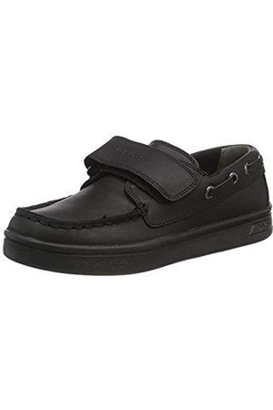 Geox Niño Calzado formal - J DJROCK BOY A BLACK Boys' Loafers & Moccasins Moccasin size 30(EU)