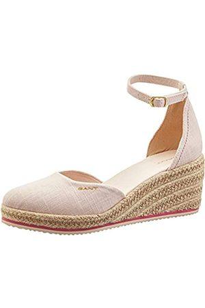 GANT Mujer Sandalias - Wedgeville, Sandalia con Pulsera Mujer, (Seashell Pink G57)