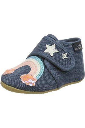 Living Kitzbühel Niña Zapatos - Babyklett Einhorn&Regenbogen, Mule Niñas