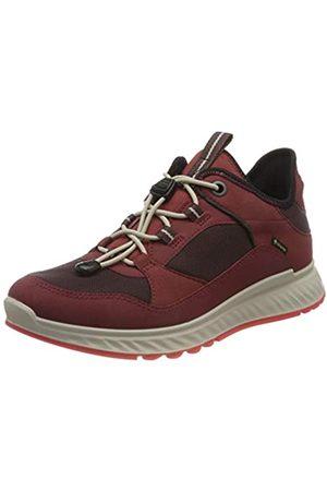 Ecco Mujer Zapatillas deportivas - EXOSTRIDE W SyrahFig SyntheticSyntheti, Zapatillas Mujer, (Syrah/Figura)