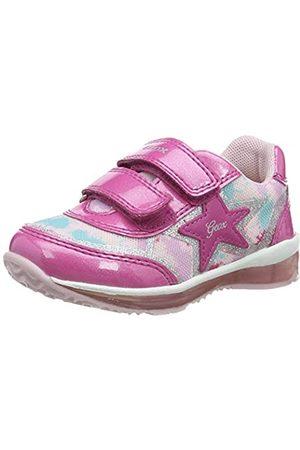 Geox Niña Zapatillas deportivas - B Todo Girl B, Zapatillas Bebé-Niñas, Fuchsia/