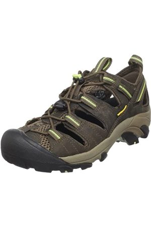 Keen Mujer Trekking - Arroyo II, Zapatos de Low Rise Senderismo Mujer, (Chocolate Chip/Sap Green 0)