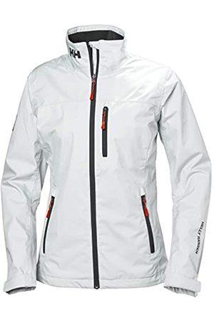 Helly Hansen Mujer Chubasqueros - W Crew Midlayer Jacket Chaqueta Impermeable, Mujer, White