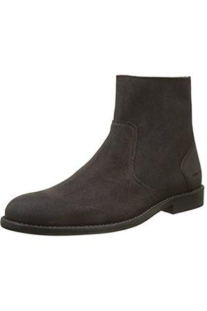 IKKS Hombre Botines - High Boots - Botines Hombre, (Marron (Marron Fonce))